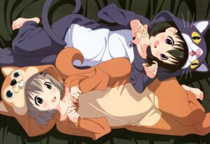 Rating: Safe Score: 52 Tags: kuraue_hinata pajama yama_no_susume yukimura_aoi User: drop