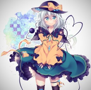 Rating: Safe Score: 40 Tags: komeiji_koishi niwashi thighhighs touhou User: Mr_GT