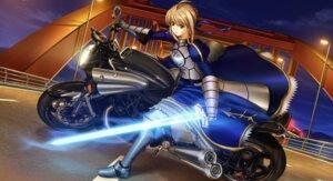Rating: Safe Score: 15 Tags: armor fate/stay_night fate/zero jpeg_artifacts saber shirakawa_mayo sword User: jr0904