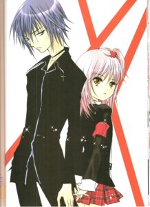 Rating: Safe Score: 5 Tags: binding_discoloration hinamori_amu peach-pit shugo_chara tsukiyomi_ikuto User: noirblack