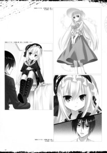 Rating: Questionable Score: 7 Tags: dress hidan_no_aria kobuichi monochrome seifuku User: Twinsenzw