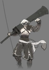Rating: Safe Score: 9 Tags: d.k male nier nier_gestalt transparent_png User: 落油Я