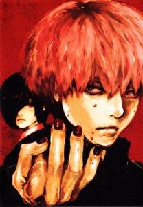 Rating: Safe Score: 6 Tags: ishida_sui kaneki_ken kirishima_touka screening tokyo_ghoul User: care1
