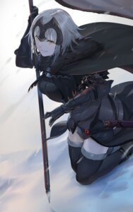 Rating: Questionable Score: 49 Tags: armor fate/grand_order jeanne_d'arc jeanne_d'arc_(fate/apocrypha) nuda ruler_(fate/apocrypha) thighhighs weapon User: mash