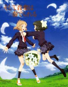 Rating: Safe Score: 9 Tags: kohinata_miku senki_zesshou_symphogear tachibana_hibiki User: Jigsy