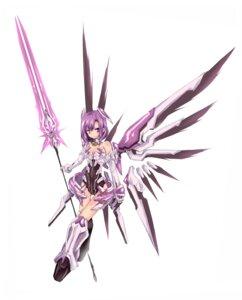 Rating: Safe Score: 40 Tags: armor bodysuit konoha_(pixiv856429) mecha_musume wings User: Kaixa
