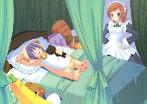 Rating: Safe Score: 7 Tags: animal_ears crease kuroi_sumi maid moetan neko nekomimi penguin pop ruriko User: MugiMugi