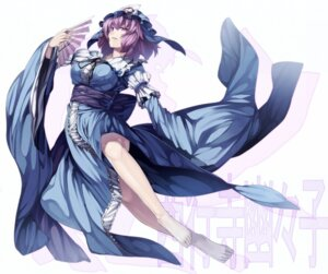 Rating: Safe Score: 37 Tags: dress rby saigyouji_yuyuko touhou User: charunetra