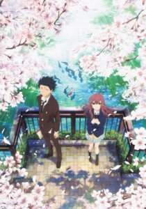 Rating: Safe Score: 22 Tags: ishida_shouya koe_no_katachi nishimiya_shouko seifuku tagme User: fireattack