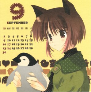 Rating: Safe Score: 10 Tags: calendar mitsumi_misato User: Radioactive