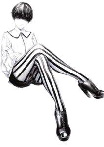 Rating: Safe Score: 16 Tags: heels monochrome pantyhose sawasawa User: NotRadioactiveHonest