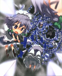 Rating: Safe Score: 11 Tags: izayoi_sakuya kirisame_marisa moriki_takeshi touhou User: Radioactive
