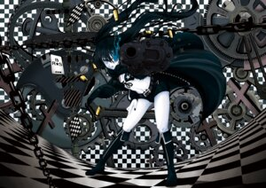 Rating: Safe Score: 19 Tags: bikini_top black_rock_shooter black_rock_shooter_(character) gun hebata vocaloid User: cattypkung