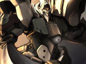 Rating: Safe Score: 7 Tags: kurogane_no_linebarrels mecha tagme User: Radioactive