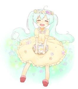 Rating: Safe Score: 15 Tags: dress hatsune_miku nagian vocaloid User: Nekotsúh