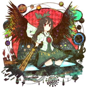 Rating: Safe Score: 3 Tags: itomugi-kun reiuji_utsuho touhou wings User: itsu-chan
