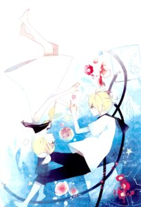 Rating: Safe Score: 4 Tags: kagamine_len kagamine_rin ky692 vocaloid User: Radioactive