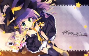 Rating: Safe Score: 24 Tags: cleavage dress halloween rei thighhighs wallpaper witch User: fairyren