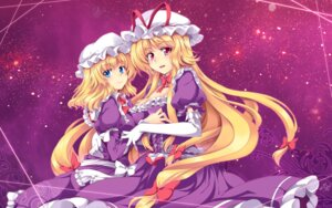 Rating: Safe Score: 24 Tags: cleavage jpeg_artifacts maribel_han touhou wallpaper windart yakumo_yukari User: Mr_GT