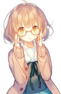 Rating: Safe Score: 54 Tags: iori_yosuga kuriyama_mirai kyoukai_no_kanata megane seifuku sweater User: nphuongsun93