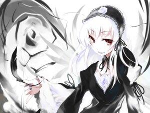 Rating: Safe Score: 12 Tags: gothic_lolita lolita_fashion rozen_maiden suigintou ushiki_yoshitaka wallpaper User: Radioactive