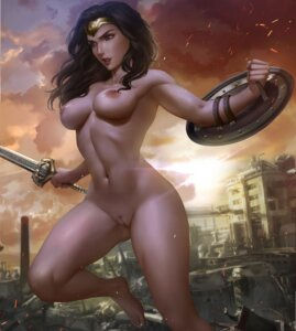 Rating: Explicit Score: 60 Tags: dc_comics logan_cure naked nipples pubic_hair pussy sword uncensored wonder_woman User: kamikazemonk