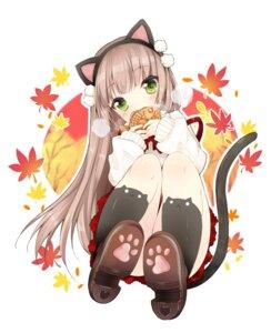 Rating: Safe Score: 61 Tags: animal_ears duji_amo nekomimi seifuku tail User: fairyren