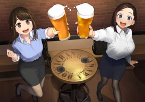 Rating: Safe Score: 44 Tags: crossover dress_shirt fixed ganbare_douki-chan getsuyoubi_no_tawawa himura_kiseki kouhai-chan_(getsuyoubi_no_tawawa) pantyhose yom User: Mr_GT