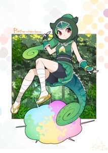 Rating: Safe Score: 17 Tags: bandages bike_shorts kemono_friends panther_chameleon sarashi tagme tail User: Mr_GT