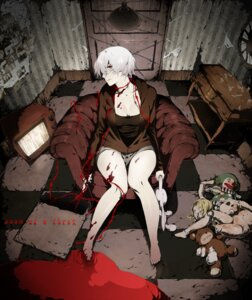 Rating: Questionable Score: 35 Tags: arisawa_kuro blood bondage cleavage User: mash