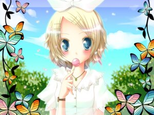 Rating: Safe Score: 11 Tags: kagamine_rin meiya_neon vocaloid wallpaper User: Radioactive