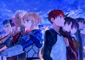 Rating: Safe Score: 13 Tags: archer armor bob emiya_shirou fate/stay_night kotomine_kirei lancer matou_sakura rider saber seifuku tattoo toosaka_rin User: Mr_GT