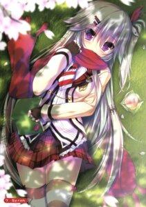 Rating: Safe Score: 128 Tags: hanasaki_work_spring saga_planets seifuku shiranui_inori syroh thighhighs User: Twinsenzw