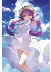 Rating: Safe Score: 76 Tags: dress gaou_(matsulatte) hololive macaron_taitei minato_aqua pantsu see_through string_panties summer_dress User: kiyoe