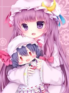 Rating: Safe Score: 26 Tags: dress nachi patchouli_knowledge remilia_scarlet touhou User: Zenex