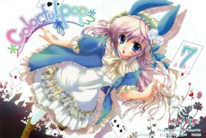 Rating: Safe Score: 21 Tags: animal_ears bunny_ears crease dress hisuitei izumi_tsubasu User: crim