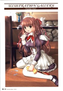 Rating: Questionable Score: 7 Tags: kazami_yui maid nekonyan parfait_chocolate_second_brew User: fireattack