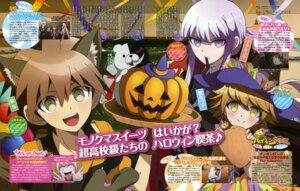 Rating: Safe Score: 18 Tags: animal_ears dangan-ronpa fujisaki_chihiro itou_mayuka kirigiri_kyouko monokuma naegi_makoto User: drop