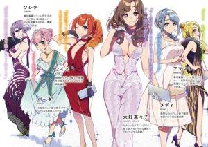 Rating: Safe Score: 25 Tags: cleavage dress heels no_bra oosuki_mamako pochi_(pochigoya) skirt_lift tsuujou_kougeki_ga_zentai_kougeki_de_ni-kai_kougeki_no_okaasan_wa_suki_desu_ka? User: kiyoe