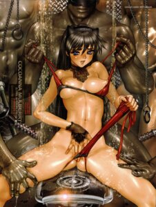 Rating: Explicit Score: 83 Tags: bikini breasts canopri_comic cocoanna_mulberry crease cyril_brooklyn masturbation nipples panty_pull scanning_artifacts shirow_masamune swimsuits User: gb40