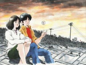 Rating: Safe Score: 6 Tags: adachi_mitsuru asakura_minami baseball touch uesugi_tatsuya User: saemonnokami