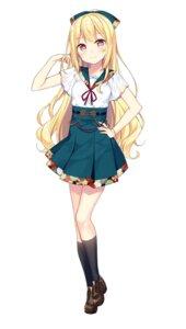Rating: Safe Score: 73 Tags: bekotarou heels onsen_musume ootemachi_ririn seifuku User: saemonnokami
