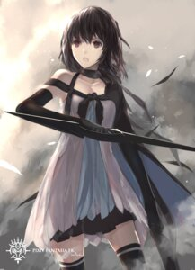 Rating: Questionable Score: 69 Tags: pixiv_fantasia pixiv_fantasia_fallen_kings swd3e2 sword thighhighs User: KazukiNanako