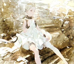 Rating: Safe Score: 17 Tags: bandages bloomers dress nier_reincarnation skirt_lift square_enix taiki_(artist) User: Bandar12345