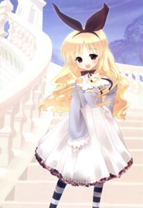 Rating: Safe Score: 26 Tags: dress tsukigami_luna User: Wraith