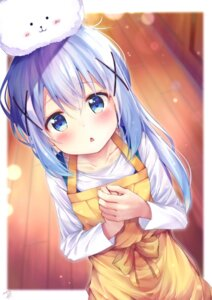Rating: Safe Score: 91 Tags: gochuumon_wa_usagi_desu_ka? kafuu_chino rouka tippy_(gochuumon_wa_usagi_desu_ka?) User: h2so4cuso4