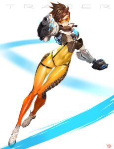 Rating: Safe Score: 60 Tags: bodysuit gun overwatch tracer yang-do User: blooregardo