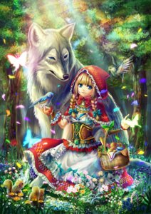 Rating: Safe Score: 31 Tags: big_bad_wolf cleavage kazunehaka little_red_riding_hood_(character) red_riding_hood User: Mr_GT