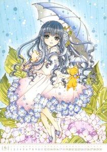 Rating: Safe Score: 6 Tags: calendar card_captor_sakura clamp daidouji_tomoyo dress kero umbrella User: Omgix