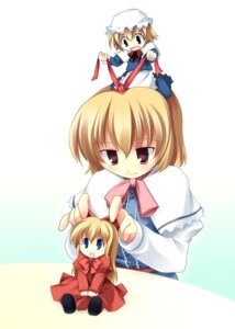 Rating: Safe Score: 13 Tags: alice_margatroid shanghai tagme touhou User: youliao